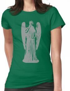 Don't Blink! Womens Fitted T-Shirt