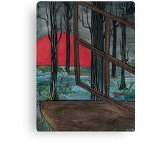 a scene Canvas Print