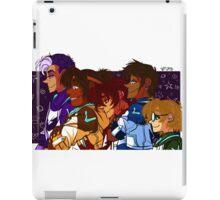 Voltron Squad - Group iPad Case/Skin