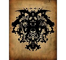 Death Note - Rorschach Photographic Print