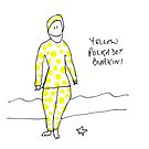 Yellow polkadot burkini by Matt Mawson