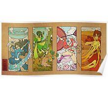 Avatar - Woodblock Poster