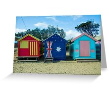 The Huts 2 - Melbourne Greeting Card