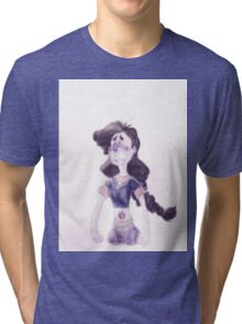 Here comes a thought - Stevonnie in Mindful Education Tri-blend T-Shirt