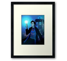 Sherlock - The Doctor? Framed Print