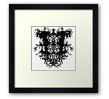 Sherlock - Rorschach Framed Print