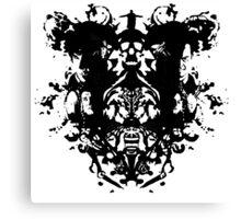 Sherlock - Rorschach Canvas Print
