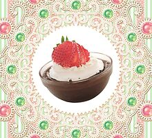 Laces & Rhinestones - Strawberry Choco Pudding by PixelClinique