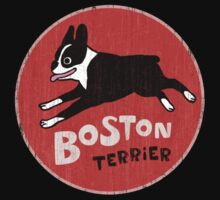 Boston Terrier Retro Style Kids Clothes