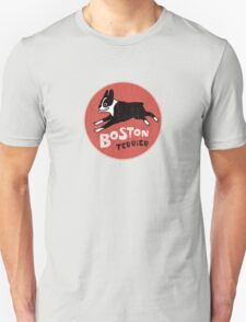Boston Terrier Retro Style T-Shirt