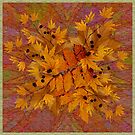 Autumn Leaf Bouquet by Dana Roper
