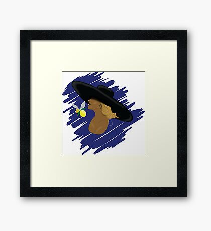 BEY SLAY Framed Print