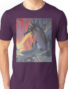 Fire Breathing Dragon Fights (some guy) Unisex T-Shirt