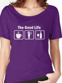 Funny Womens Archery The Good Life  Women's Relaxed Fit T-Shirt