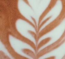 Latte Art Sticker