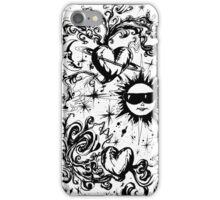 sun moon and stars iPhone Case/Skin