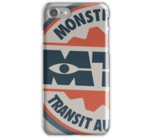 Monsters Transit Public Transportation Energy Screams iPhone Case/Skin