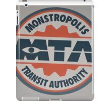 Monsters Transit Public Transportation Energy Screams iPad Case/Skin