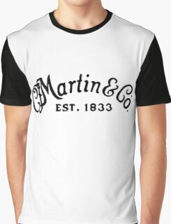 Martin & Co black Graphic T-Shirt