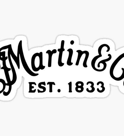 Martin & Co black Sticker
