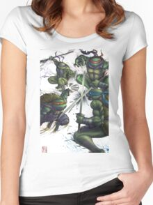 TMNT Women's Fitted Scoop T-Shirt