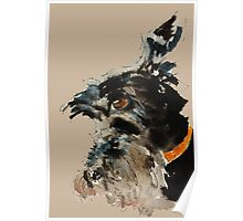 Brandy Scottie Dog Poster