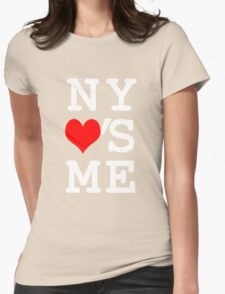 New York Loves Me Womens Fitted T-Shirt