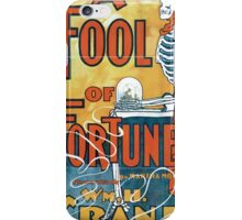Performing Arts Posters A fool of fortune by Martha Morton presented by Wm H Crane and his admirable company 1911 iPhone Case/Skin