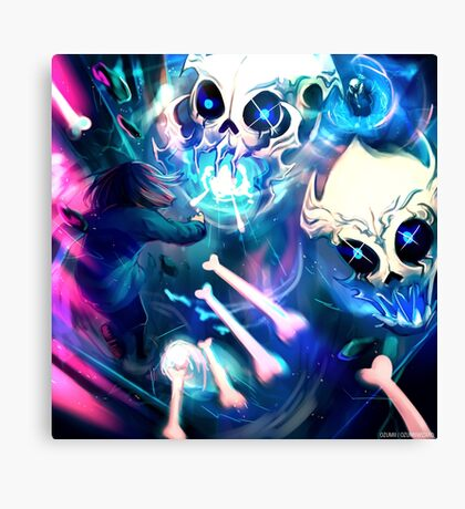 Undertale - Megalovania Intensified Canvas Print