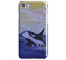 Whale Hello There! iPhone Case/Skin