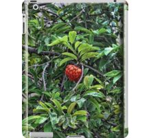 The Green Fruit Turned Red iPad Case/Skin