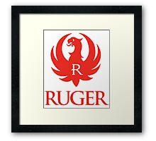 RUGER Framed Print