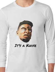"21 Savage ""It's a knife"" Long Sleeve T-Shirt"
