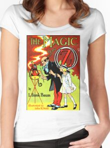 The Magic of Oz Women's Fitted Scoop T-Shirt