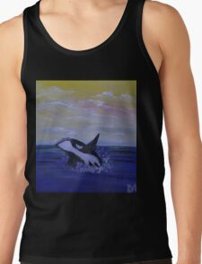 Whale Hello There! Tank Top