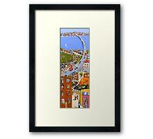 Inner city games Framed Print
