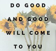 do good by clarityvibes
