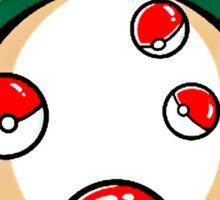 Monster Sleep On The Ball Sticker