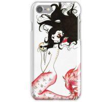 Blood Red Mermaid iPhone Case/Skin