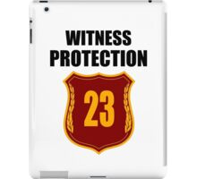"""Witness"" Protection - We Are All Witnessnes iPad Case/Skin"