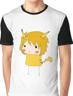 PikaQuinn, defender of hearts. Graphic T-Shirt