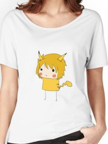 PikaQuinn, defender of hearts. Women's Relaxed Fit T-Shirt