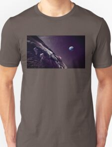 Earth Rise On The Moon Unisex T-Shirt