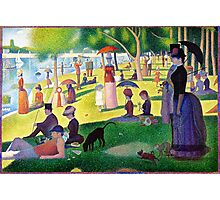 Sunday Afternoon On The Island Of La Grande Jatte Photographic Print