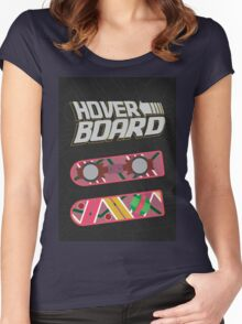 Hoverboard Women's Fitted Scoop T-Shirt