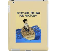 To Victory! iPad Case/Skin