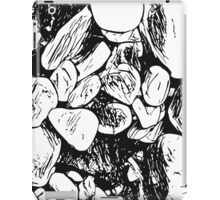 Abstract Ink Rocks iPad Case/Skin