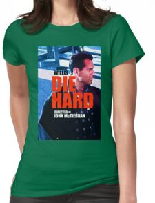 DIE HARD 2 Womens Fitted T-Shirt