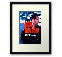 DIE HARD 2 Framed Print