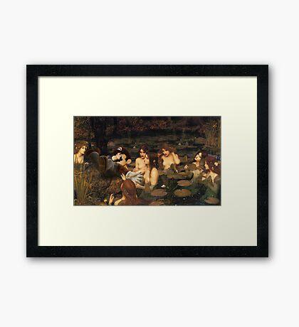 Mario Nymphea Framed Print